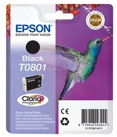 Epson Ink Catridge T0801 Black, C13T08014011