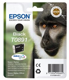 Epson Ink Catridge T0891 Black, C13T08914011