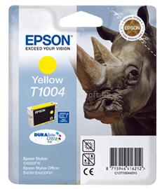 Epson Ink Catridge T1004 Yellow, C13T10044010