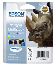 Epson Ink Catridge T1006 CMY Multipack, C13T10064010