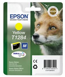Epson Ink Catridge T1284 Yellow, C13T12844010