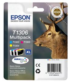 Epson Ink Catridge T1306 CMY Multipack, C13T13064010