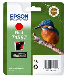 Epson Ink Catridge T1597 Red, C13T15974010