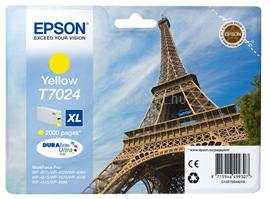 Epson Ink Catridge T7024 XL Yellow 2000 oldal, C13T70244010