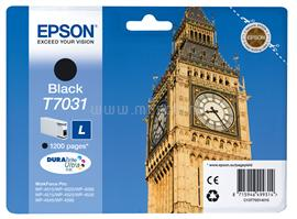 Epson Ink Catridge T7031 L Black 1200 oldal, C13T70314010