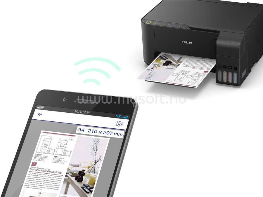EPSON L3150 EcoTank külső tintatartályos nyomtató C11CG86405 large