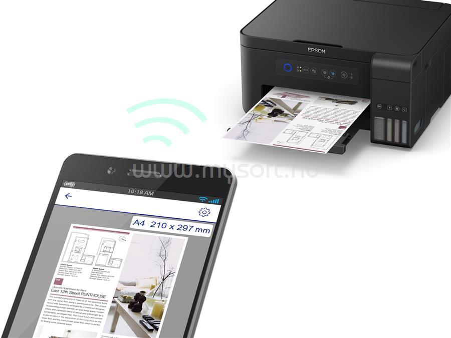 EPSON L4150 EcoTank külső tintatartályos nyomtató C11CG25401 large