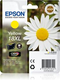 Epson Singlepack Yellow 18XL Claria Home Ink, C13T18144010