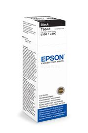Epson T6641 Black ink bottle 70ml 4 000 oldal, C13T66414A