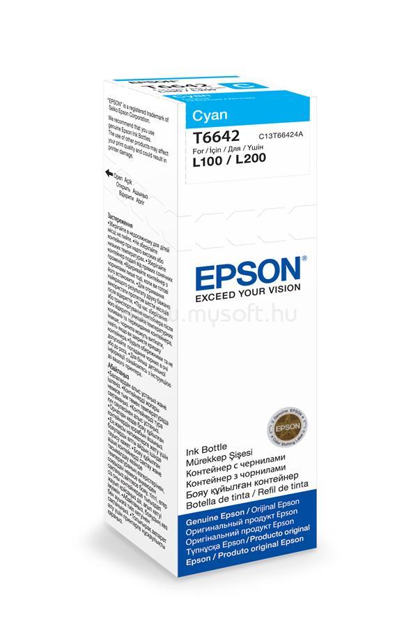 EPSON T6642 Cyan ink bottle 70ml 4 000 oldal