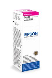 Epson T6643 Magenta ink bottle 70ml 4 000 oldal, C13T66434A