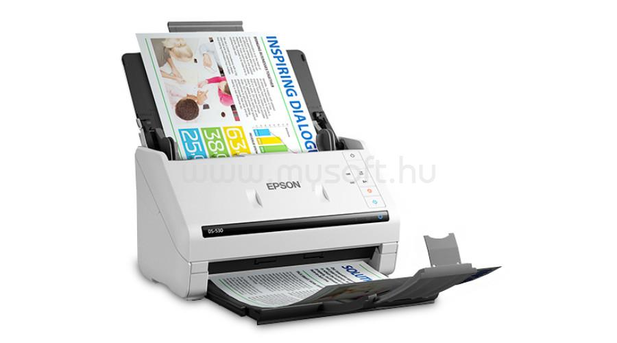 EPSON WorkForce DS-530 A4 lapáthúzós dokumentumszkenner