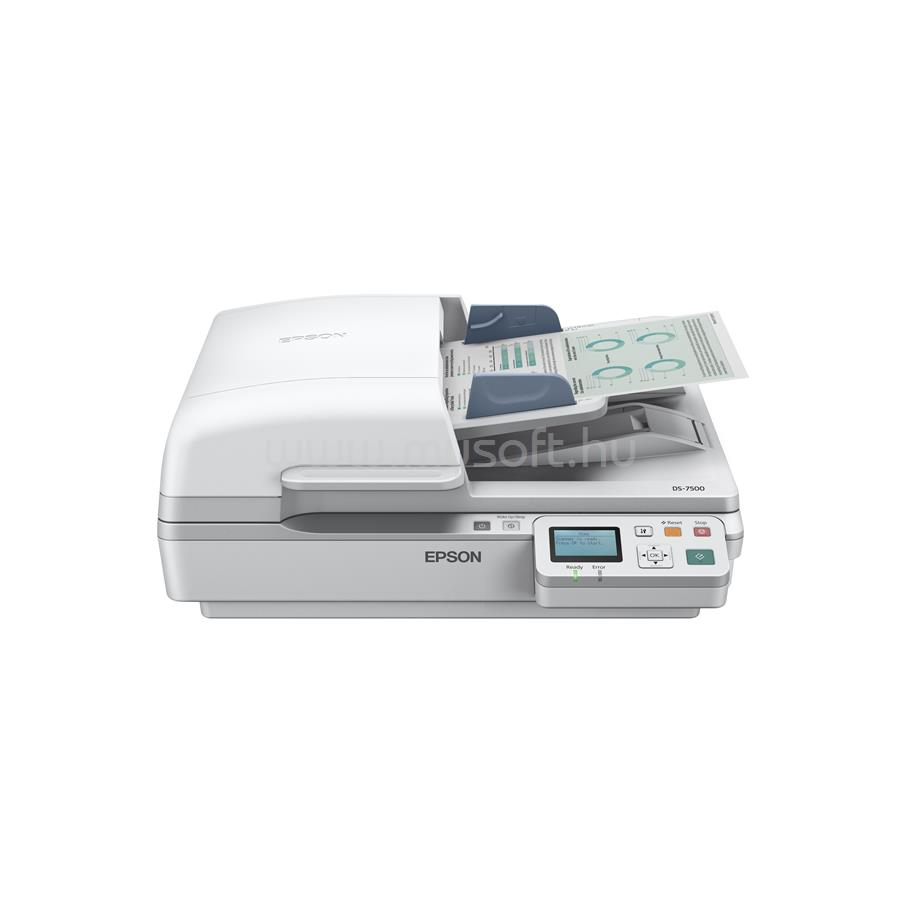 EPSON WorkForce DS-6500N A4 dokumentumszkenner
