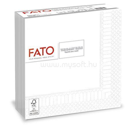 """FATO Szalvéta, 1/4 hajtogatott, 33x33 cm, """"Smart Table"""", fehér (50 db)"""