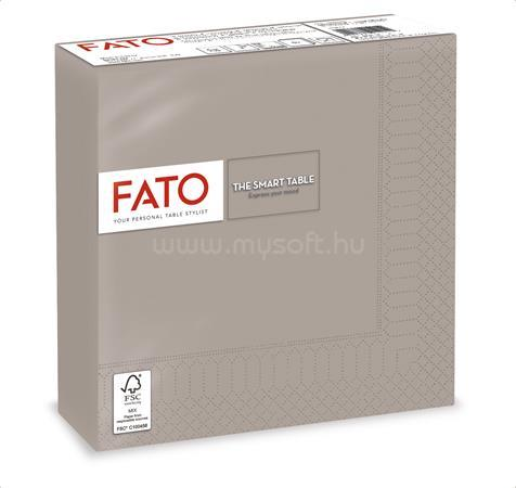 """FATO Szalvéta, 1/4 hajtogatott, 33x33 cm, """"Smart Table"""", galambszürke (50 db)"""