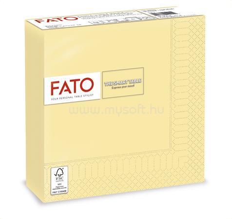 """FATO Szalvéta, 1/4 hajtogatott, 33x33 cm, """"Smart Table"""", pezsgő (50 db)"""