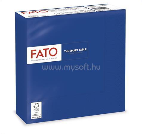 """FATO Szalvéta, 1/4 hajtogatott, 33x33 cm, """"Smart Table"""", sötétkék (50 db)"""
