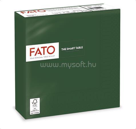 """FATO Szalvéta, 1/4 hajtogatott, 33x33 cm, """"Smart Table"""", zöld (50 db)"""