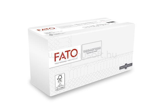 """FATO Szalvéta, 1/8 hajtogatott, 38x38 cm, """"Smart Table"""", fehér (50 db)"""