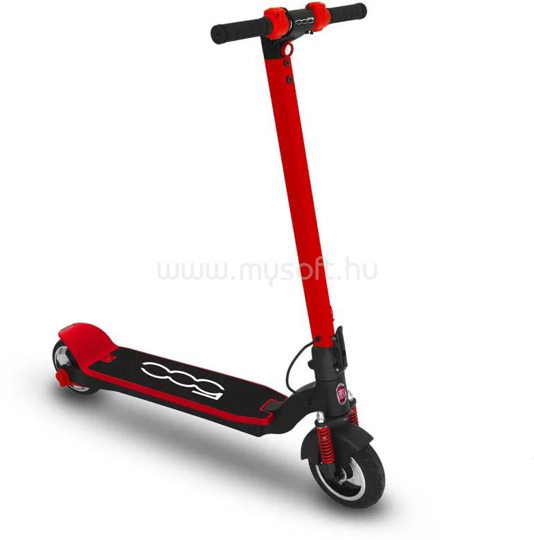 """FIAT 500-F80 8,0"""" piros elektromos roller"""