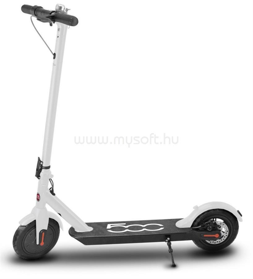 """FIAT 500-F85 8,5"""" fehér elektromos roller"""