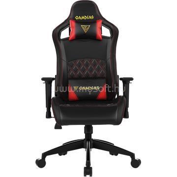 GAMDIAS Aphrodite EF1-L gaming szék - Fekete/Piros