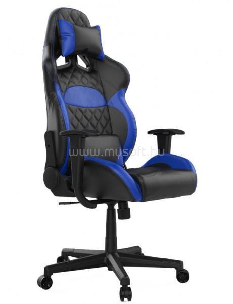 GAMDIAS Zelus E1-L gaming szék - Kék/fekete