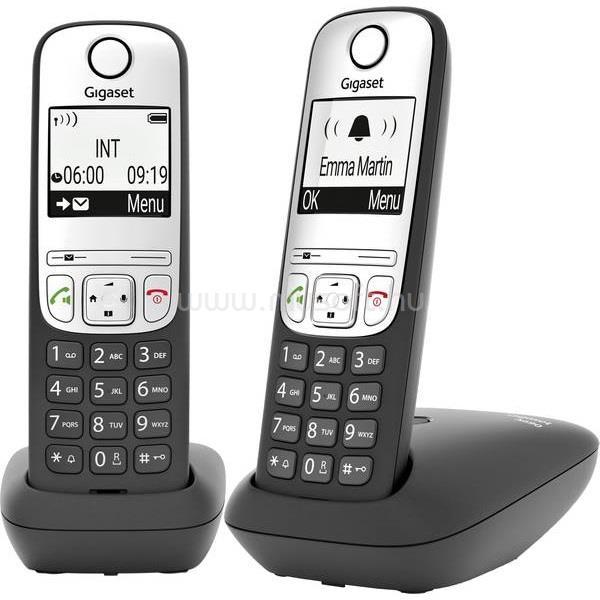 GIGASET ECO DECT Telefon A690 DUO, fekete
