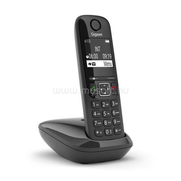 GIGASET AS690 ECO DECT Telefon (fekete)