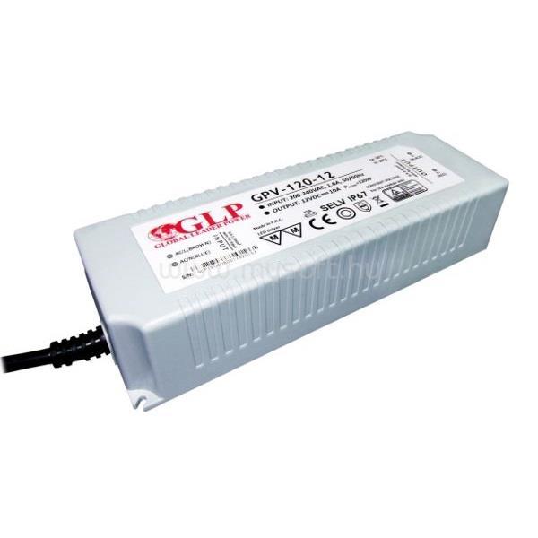 GLP GPV-120-12 120W 12V 10A IP67 LED tápegység