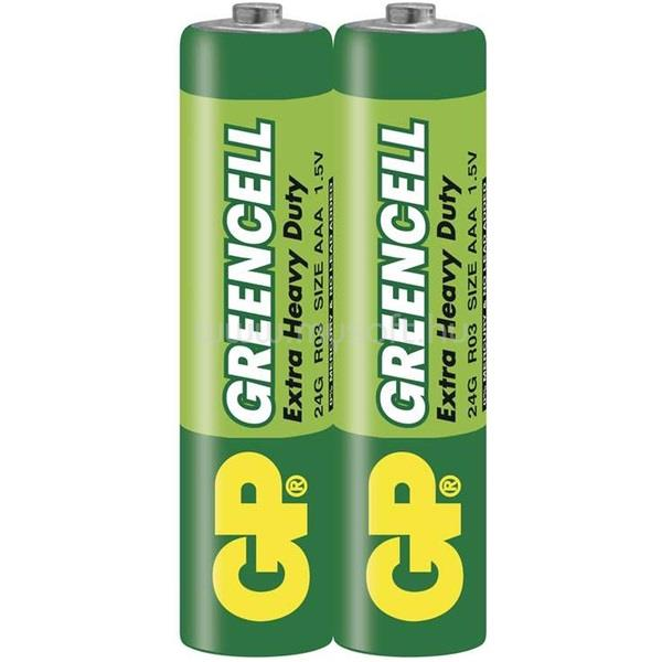 GP BATTERIES Greencell AAA mikro ceruza elem (24G) 2db/zsugor