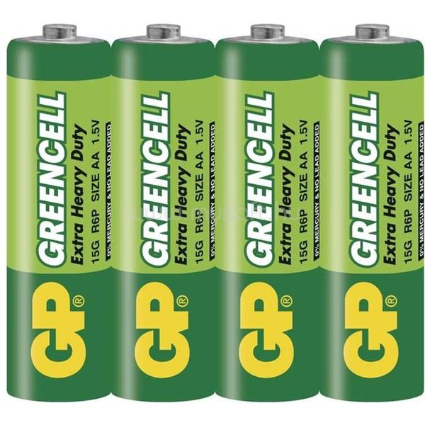 GP BATTERIES Greencell LR06 4db/zsugor ceruza elem