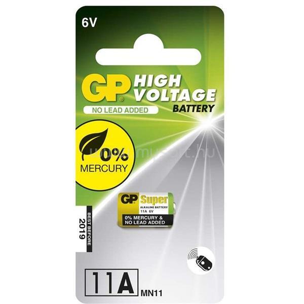 GP BATTERIES Super alkáli 11A speciális elem 1db/bliszter