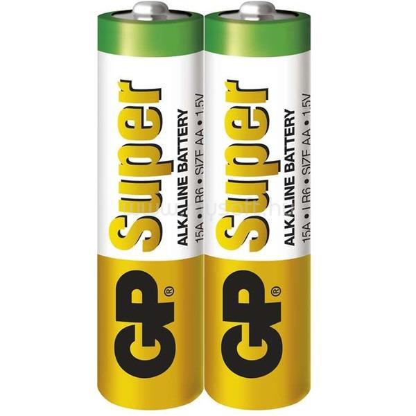 GP BATTERIES GP Super alkáli 15A 2db/zsugorfólia (AA) ceruza elem