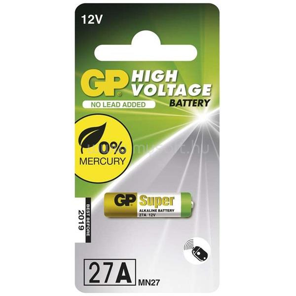 GP BATTERIES Super alkáli 27A 1db elem