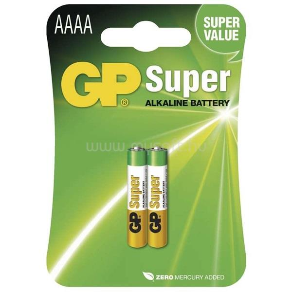 GP Super alkáli AAAA (25A) elem (2 db)