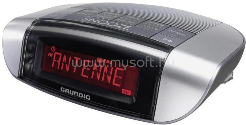 GRUNDIG Sonoclock 660 PLL fekete/szürke rádiós ébresztőóra