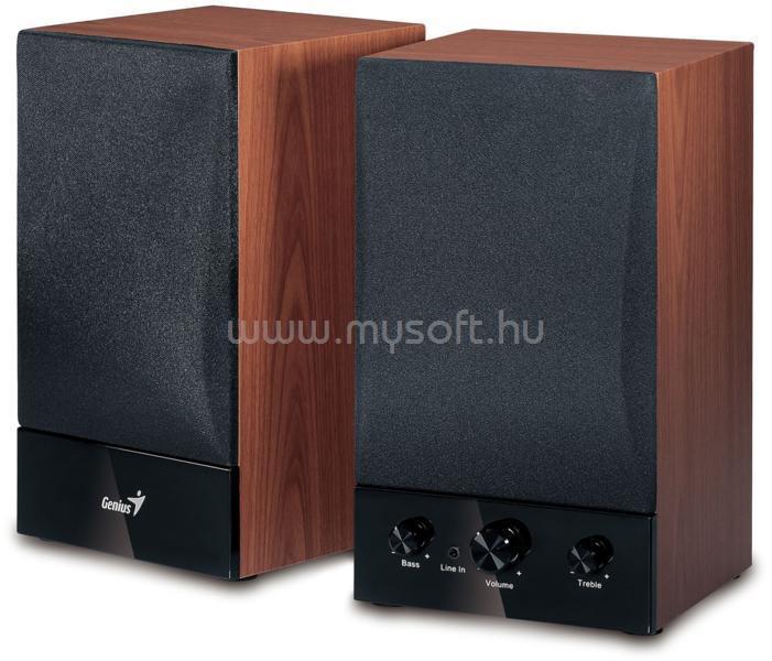 GENIUS SP-HF1250B II fa hangszóró 2.0