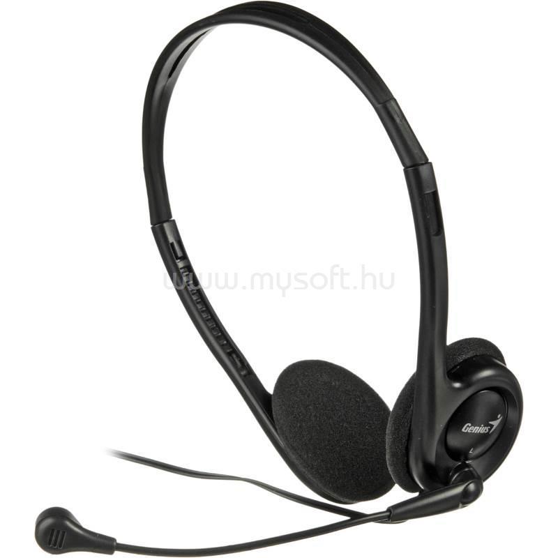 GENIUS headset HS-200C Fekete
