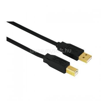 HAMA 3,0M Aranyozott USB Kábel