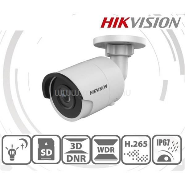 HIKVISION DS-2CD2043G0-I kültéri, 4MP, 2,8mm, IR30m, IP csőkamera