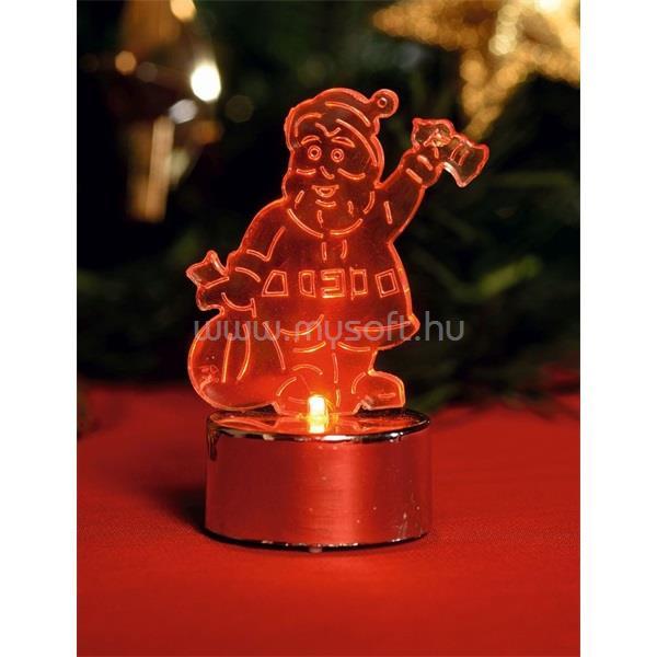HOME CDM 1/S LED-es Mikulás mécses karácsonyi dekoráció