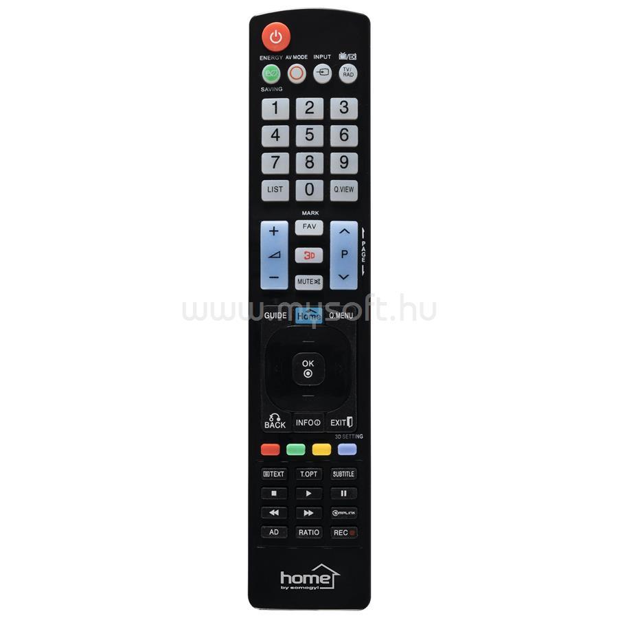 HOME URC LG 2 LG okos TV távirányító