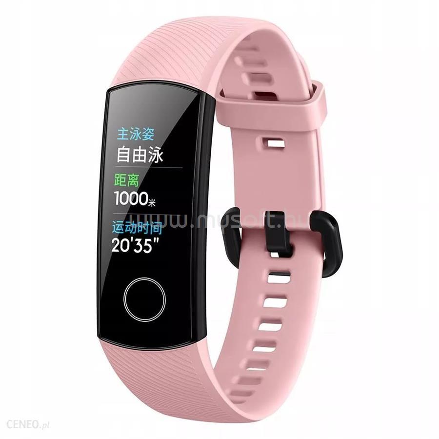 HONOR Band 5 aktivitásmérő rózsaszín (55024141)