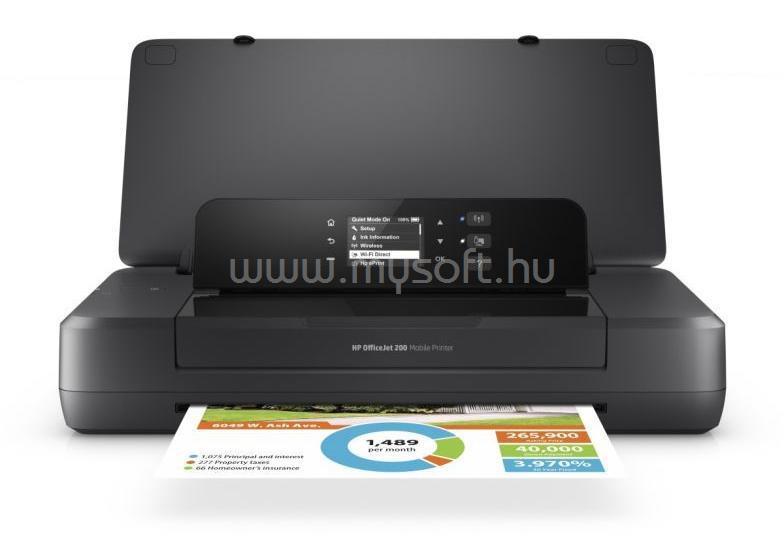 HP OfficeJet 202 Mobile Color Printer