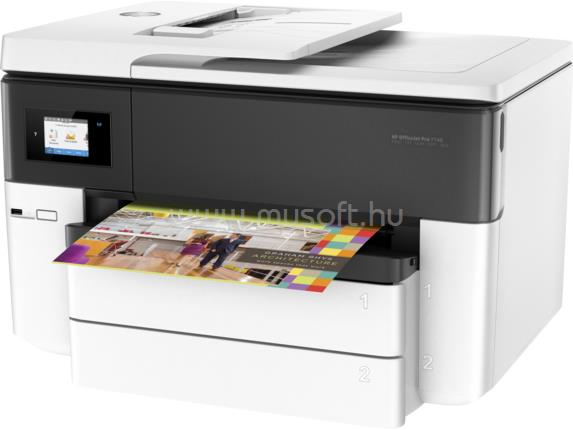 HP Officejet Pro 7740 Wide Format Color Multifunction Printer