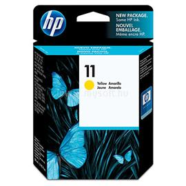 HP 11 Yellow Ink Cartridge, C4838AE