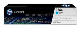 HP 126A Cyan LaserJet Toner Cartridge, CE311A