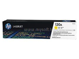 HP 130A Yellow LaserJet Toner Cartridge (1 000 oldal), CF352A