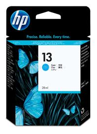 HP 13 Cyan Ink Cartridge, C4815A